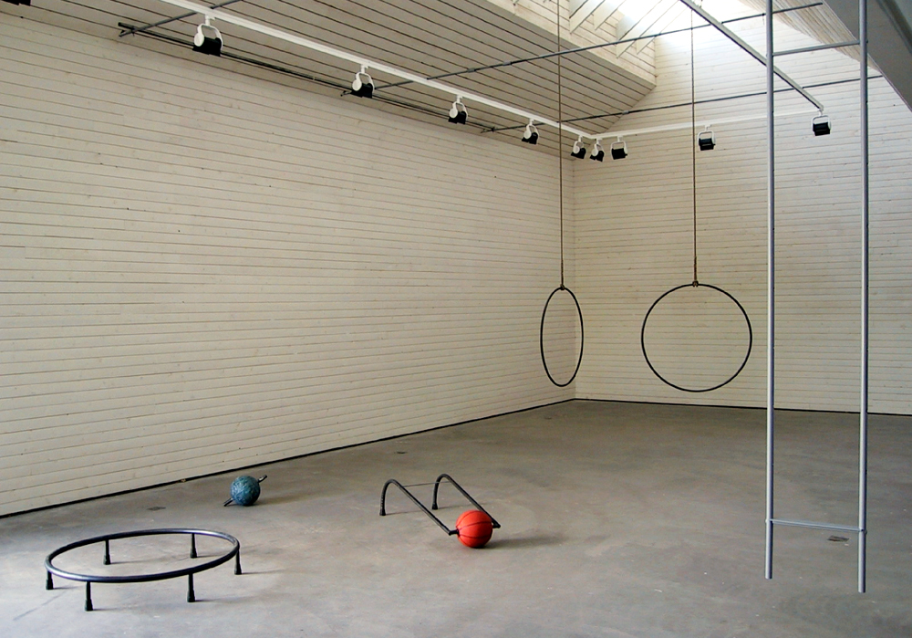Equipments, 2002, steel, rubber, rope